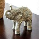 象のオブジェ (66584) 【オブジェ 象 ぞう 動物 アニマル バリ 雑貨 アジアン雑貨 アジア雑貨 デコレーション 模様替…