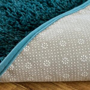 【送料無料】洗えるシャギーラグカーペット[強力滑り止め付き]約100×140cm【マイクロファイバー長方形厚手ラグマットホットカーペット対応滑り止め絨毯じゅうたん北欧グリーンホワイトアイボリーブラウンレッドブラックベージュ】