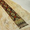 【メール便対応】バリ島の伝統的な模様が入った手織りの アジアン イカット[210×22][10258]【ファブリック 生地 壁掛…