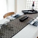 ウォーターヒヤシンスで編まれた アジアン テーブルランナー[Cタイプ][7544]【テーブルセンター テーブルデコレーショ…