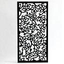 ロータスをモチーフにした長方形のアートパネル[40×80cm][10784]【 MULIA ムリア 木彫り 壁掛け インテリア アート …