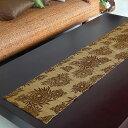 ウォーターヒヤシンスで編まれた アジアン テーブルランナー[Bタイプ][7543]【テーブルセンター テーブル タペストリ…