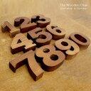 木彫りの数字オブジェ[0〜9] [11553-0-11553-1-11553-2-11553-3-11553-4-11553-5-11553-6-11553-7-11553-8-11553-9…