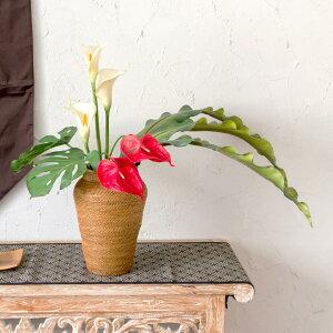 ネストリーフ(61690)【フェイクグリーンリゾートアジアン雑貨ハワイアン雑貨ナチュラルグリーンバリ雑貨アーティフィシャルフラワーアートフラワー観葉植物】