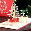 【40代女性】普段会えない友人へサプライズ!飛び出すクリスマスカードのおすすめは?