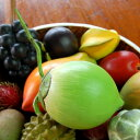 木彫りのアジアンフルーツ[ココナッツ][10527]【本物そっくりバリ島のフルーツ 果物 果実 インテリア置物 アジアン置き物 木彫りのフルーツ 木製オブジェ ...