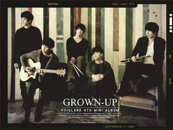 ◇SALE◇【メール便送料無料】FTIsland/GROWN-UP:4th Mini Album [台灣獨占初回限定盤] (CD+DVD) エフティアイランド