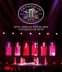 ◇SALE◇2PM/ARENA TOUR 2014 GENESIS OF 2PM (Blu-ray) 日本盤 トゥーピーエム ブルーレイ