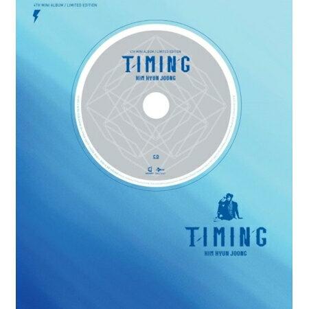 ◇SALE◇【メール便送料無料】キム・ヒョンジュン/ TIMING [LIMITED EDITION/1万枚ナンバリング限定版] (CD+DVD) 韓国盤 タイミング