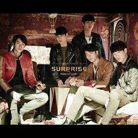 【メール便送料無料】5URPRISE/ From My Heart-1st Single(CD) 韓国盤 サプライズ