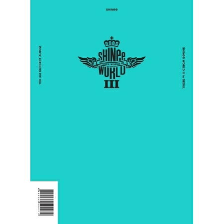 【メール便送料無料】SHINee/SHINEE THE 3RD CONCERT ALBUM [SHINEE WORLD 3 IN SEOUL] (2CD) 韓国盤 シャイニー