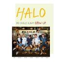【メール便送料無料】HALO/GROW UP -3rd Single (CD) 韓国盤 ヘイロー