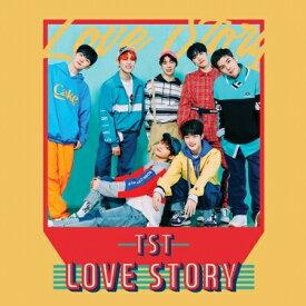 【メール便送料無料】TOP SECRET/ LOVE STORY -Single Album (CD) 韓国盤 トップ・シークレット TOPSECRET ラブストーリー TST