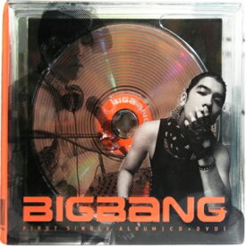 ◇SALE◇BIGBANG/ 1st Single Album (CD+DVD) 韓国盤 ビッグバン BIG BANG FIRST SINGLE ALBUM
