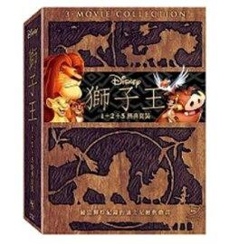 映画/ ライオン・キング 1・2・3セット (3DVD) 台湾盤 Lion King 1+2+3 boxset