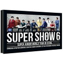 SUPER JUNIOR/ WORLD TOUR IN SEOUL [SUPER SHOW 6] (2DVD) 台湾盤 スーパージュニア スーパーショー