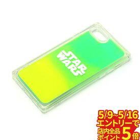 【5/9〜5/16 エントリーでP5倍 最大48.5倍】 iPhoneSE iphone8 iphone7 6s/6 ケース ネオンサンドケース ロゴ/グリーン&イエロー