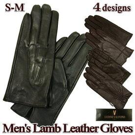 手袋 メンズ 羊革 レザー ドレスモデル / YUKI TORII Y.P renoma / S-M M-L