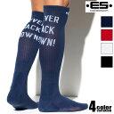 EScollection/イーエス・コレクション 膝丈 メンズソックス おしゃれ カジュアル くつろぐ 室内 ブランド靴下 ロング丈