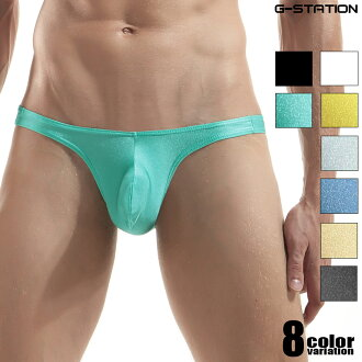 G-station/ ジーステーション swimsuit system cloth use just fitting super straw-basket re-bikini briefs man underwear men underwear sexy