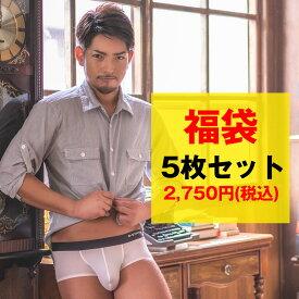 メンズインナー厳選 男性下着5枚セット福袋!ボクサーパンツ ビキニ ブリーフ Tバック Yバック ジョックストラップ メンズ セクシー インナー アンダーウェア パンツ