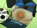 アルゼンチン国旗Tシャツ【サイズ:大きめS 】【5000円以上で】送料無料 Tシャツ メンズ 半袖 プリント アルゼンチン国旗Tシャツ…