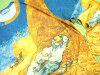世界的画家★梵高长袖子T恤T恤人长袖子朗T画家优秀的电影艺术绘画梵高文森特·梵高午睡长袖子T恤博物馆商品礼物包装免费