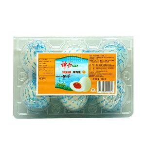 【常温便】神丹ゆで塩卵/神丹咸鴨蛋 6個【6913084212082】