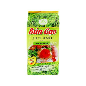 【常温便】ベトナムライスヌードル(丸麺)/越南排米粉1mm400g【4528462301368】