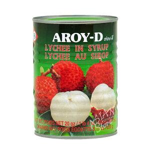 【常温便】タイ産ライチ缶/AROY-D 茘枝【16229000561】