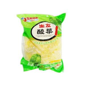 【冷凍便】生友白菜の漬け物/生友酸菜500g【4560237621011】【常温便と同時購入できません】