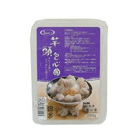 【冷凍便】台湾タロイモ団子(さつまいも餡入り)250g/台湾製造芋頭包心円250g【4528462304338】【常温便と同時購入できません】