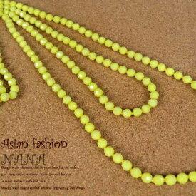 ロングネックレス アクセサリー シンプル エスニック雑貨 ファッション雑貨 小物雑貨 小物おしゃれなデザインネックレスです