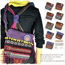 【50%★OFF】【SALE】【セール】 エスニックショルダーバッグ カバン BAG 民族衣装 レディース ジャガード ボディーバッグ ショルダー …