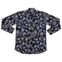 バティックシャツ 長袖シャツ No.349 【メール便OK】