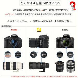 【メール便送料無料!】【C-PL72mm】☆CPLフィルター72mm偏光フィルター一眼レフカメラ・ミラーレス一眼レフ交換レンズ用サーキュラーPL☆