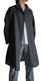 ビルマシルクのサマーコート(黒)