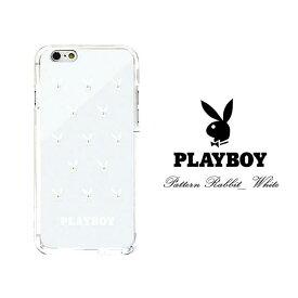 【PLAYBOY】iPhone用ハードケース iPhoneXS ケース iPhone8 iPhoneX ケース iPhone7ケース iphone7Plus iPhone8Puls iPhoneXSMax iPhoneXR アイフォンケース プレイボーイ うさぎ バニー スワロフスキー キラキラ カバー スマホケース アイフォンX