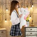 【送料無料】ユニコーン ぬいぐるみ ビッグサイズ60センチ ピンク ホワイト色選択可能 クリスマス プレゼント 子供
