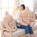 【送料無料】筋肉男の枕 抱き枕 クッション マッチョ 65X60cm 彼女にプレゼント クリスマスプレゼント 面白い