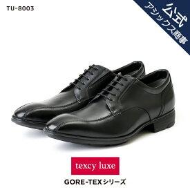 texcy luxe(テクシーリュクス) ビジネスシューズ 革靴 メンズ 本革 防水タイプ ゴアテックス GORE-TEX スワール 革靴 ビジネスシューズ men's TU-8003