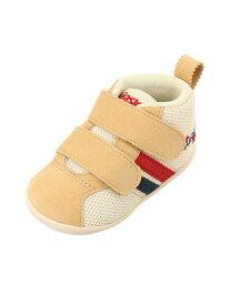 [Rakuten Fashion](K)《アシックス公式》 子供靴 運動靴 【スニーカー】 SUKU2(スクスク)【コンフィFIRST MS2】 asics アシックスウォーキング シューズ キッズシューズ ベージュ【送料無料】
