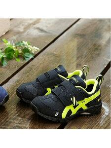 [Rakuten Fashion]《アシックス公式》キッズシューズ 子供靴【スニーカー】SUKU(スクスク) プレスクール【AC.RUNNERMINI G-TX 2】GORE-TEX防水 BLACK/LIME asics アシックスウォーキング シューズ キッズシ