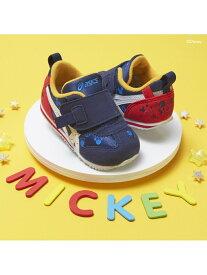 [Rakuten Fashion](K)《アシックス公式》 子供靴 運動靴 【スニーカー】 SUKU2(スクスク)【アイダホ DS BABY】 ディズニー asics アシックスウォーキング シューズ スニーカー/スリッポン ネイビー【送料無料】