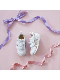 (K)《アシックス公式》 子供靴 運動靴 【スニーカー】 SUKU2(スクスク)【コルセア MINI SL】 asics アシックスウォーキング シューズ キッズシューズ ホワイト【送料無料】[Rakuten Fashion]