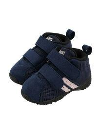 [Rakuten Fashion](K)《アシックス公式》 子供靴 運動靴 【スニーカー】 SUKU2(スクスク)【コンフィ BABY MS FW】 asics アシックスウォーキング シューズ キッズシューズ ネイビー【送料無料】