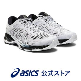 GEL-KAYANO 26 WHITE/BLACK