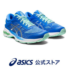 GEL-KAYANO 26 BLUE COAST/PURE SILVER