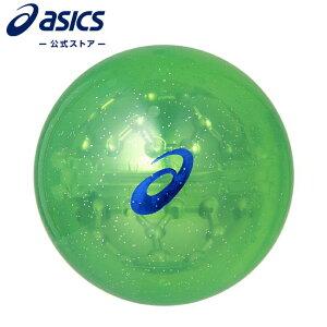 PG ハイパワーボール ×-LABO ヘキサゴングリーン3283A079 300 アシックス ASICS ゴルフボール メンズ レディース パークゴルフ ゴルフ用品 緑