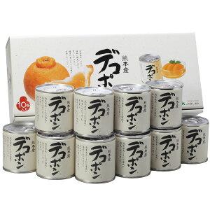 デコポン缶詰(295g×10缶) 【お中元 ギフト】【熊本県産デコポン使用】
